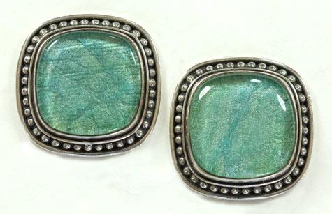 Amy Kahn Russell Tapestry in Quartz Clip Earrings