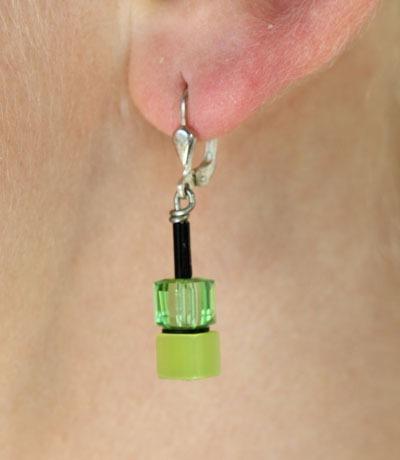 Coeur de Lion Swarovski Crystal & Polaris Earrings