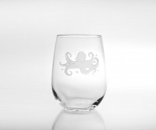Rolf Etched Octopus Collection