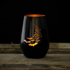 Rolf Going Batty16.5 oz Stemless Wine AND Votive