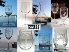 Rolf Etched Mid-Century Modern Collection