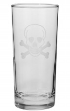 Rolf Etched Skull and Crossbones Collection