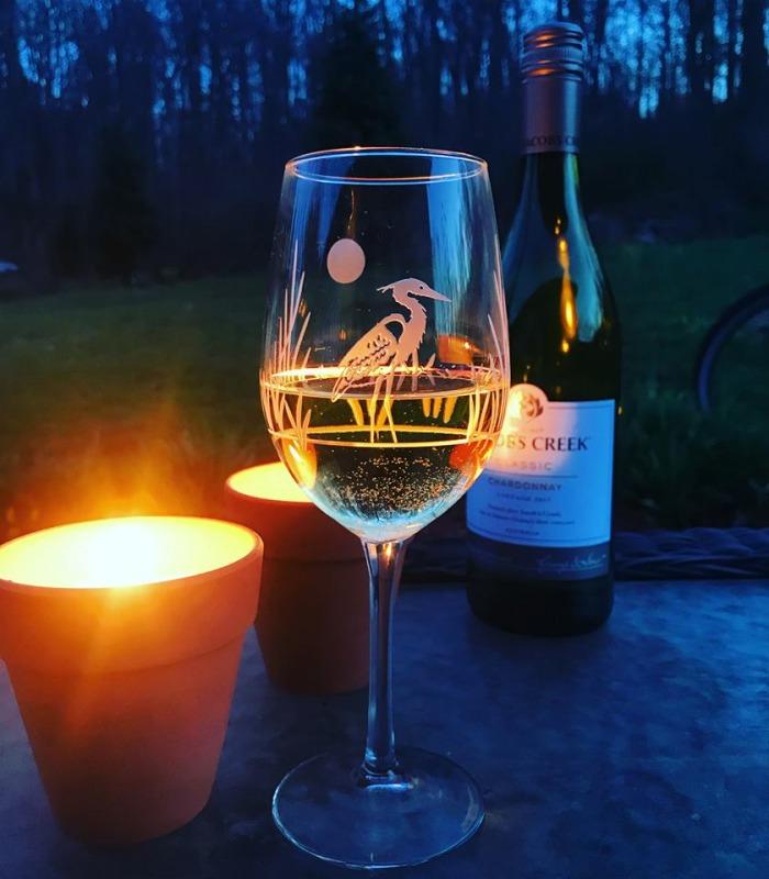 Rolf Heron 12 oz White Wine Glass