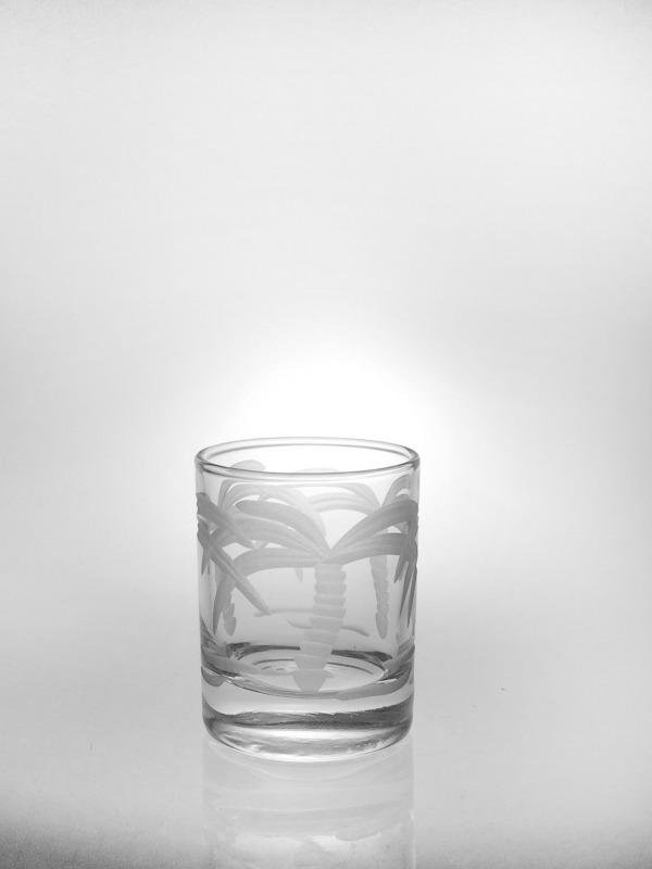 "Rolf Palm Tree Votive (""Shot Glass"")"