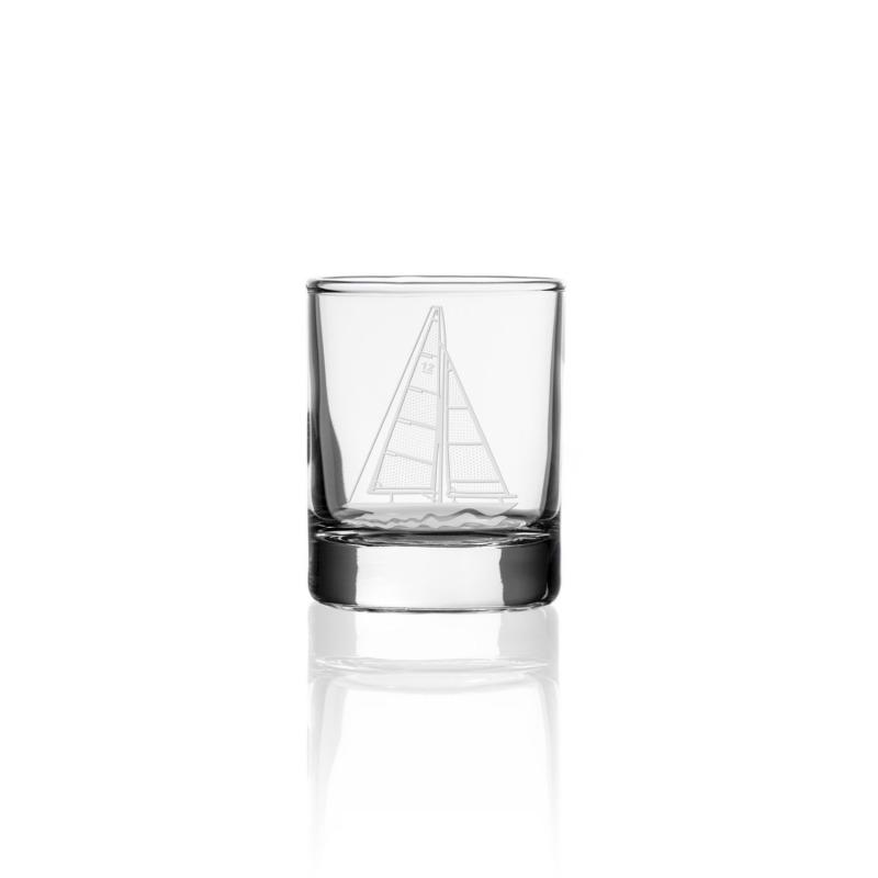 """Rolf Sailboat 2.5 oz. Shot Glass (""""Votive"""")"""