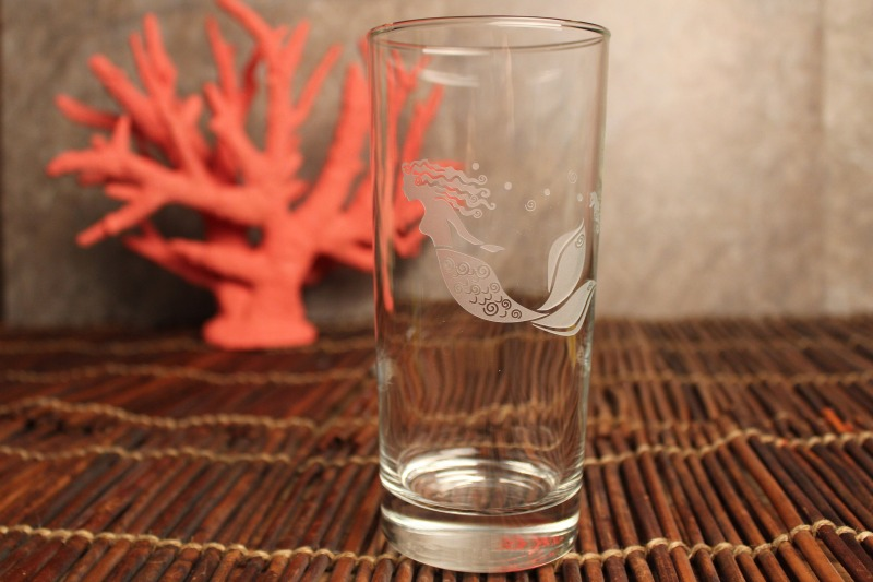 Mermaid 15 oz. Highball/Water/Cooler Glass