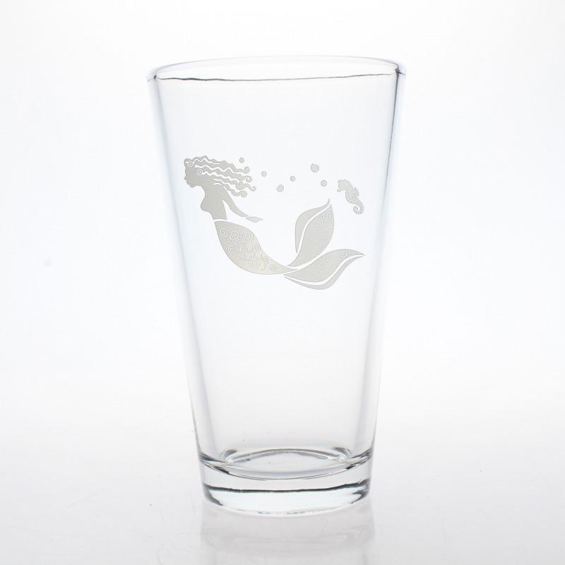 Mermaid Beer Pint or Iced Tea 16 oz. Glass