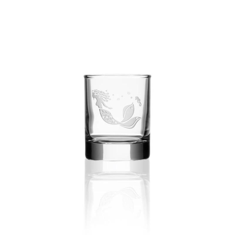 Rolf Mermaid 2.5 oz Shot Glass (Votive)