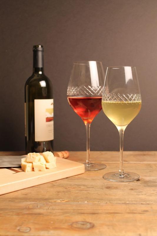 Rolf Etched Diamond 22.75 oz Bordeaux Wine