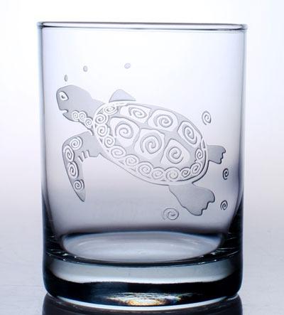 Rolf Sea Turtle 14 oz. Double Old Fashioned